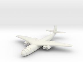 (1:144) Arado E 395 Crescent Wing Version in White Natural Versatile Plastic