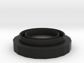 線圈 in Black Natural Versatile Plastic: Large
