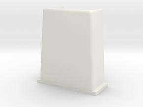 PancakeBot Gantry leg in White Natural Versatile Plastic