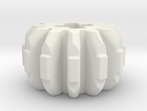 double bevel angled 12z in White Natural Versatile Plastic