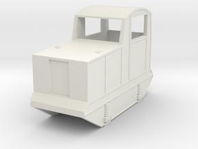 Sylvasprings loco in White Natural Versatile Plastic: 1:28