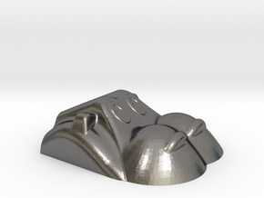 Hippopotamus-1 in Polished Nickel Steel