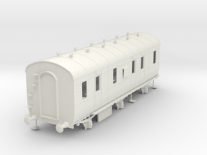 o-32-lms-d1796-6w-passenger-brake-coach in White Natural Versatile Plastic