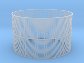 Corn Crib 2 Rings in Smooth Fine Detail Plastic