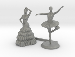 O Scale Dancers in Gray PA12