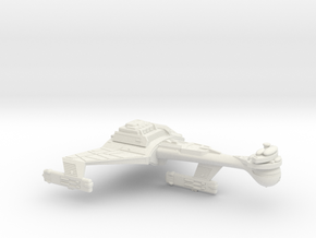 3788 Scale Klingon C8VK Refitted Heavy Carrier WEM in White Natural Versatile Plastic