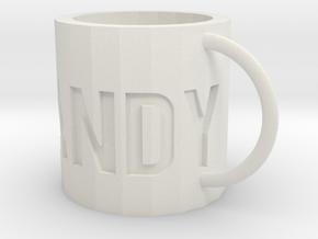 Mini Candy mug in White Natural Versatile Plastic: Small
