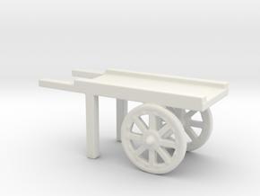 hand cart  in White Natural Versatile Plastic