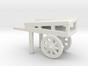 hand cart plants  in White Natural Versatile Plastic