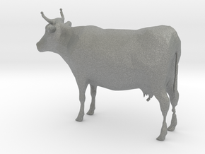 1-64 Scale Cow in Gray Professional Plastic