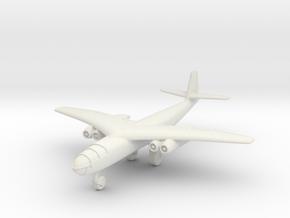 (1:200) Arado E 395 Crescent Wing Version in White Natural Versatile Plastic