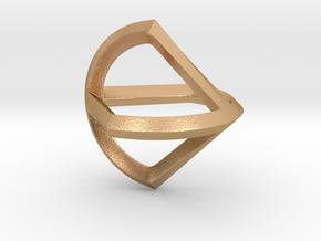 Sphericon Glatt in Natural Bronze