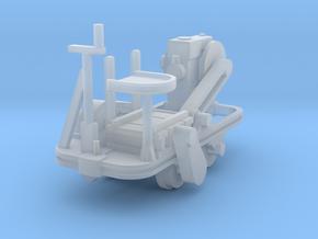 Schienenkuli Nr35 - 1:76 in Smooth Fine Detail Plastic