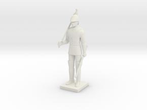 Printle T Homme 1964 - 1/24 in White Natural Versatile Plastic