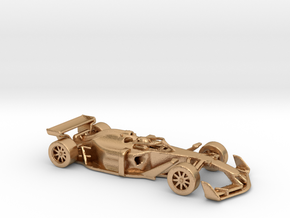 F1 2025 'Simplified' car 1/64 - with driver in Natural Bronze