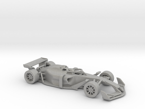 F1 2025 'Simplified' car 1/64 - with driver in Aluminum