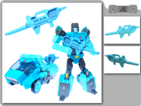 TR Kup Blaster in Smooth Fine Detail Plastic
