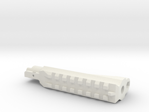 WE Hi Capa Split Slide - Part 1(w/ picatinny) in White Natural Versatile Plastic
