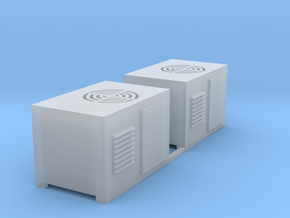 Air Conditioner-01 (2 ea.) in Smooth Fine Detail Plastic: 1:87 - HO