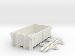 P-class ration wagon in White Natural Versatile Plastic: 1:28