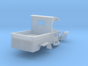 C-Cab Pickup Truck Slot Car body for T-Jet Chassis in Smooth Fine Detail Plastic