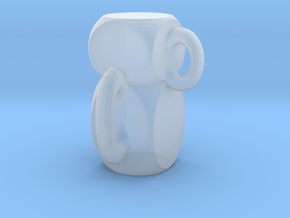 Function cup in Smooth Fine Detail Plastic