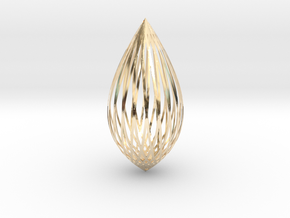Pendant in 14K Yellow Gold: Large