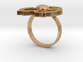 Hilalla ring in Polished Bronze: 6 / 51.5
