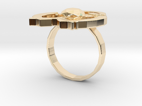Hilalla ring in 14K Yellow Gold: 6 / 51.5
