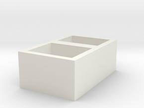 MAIZBINET@ in White Natural Versatile Plastic