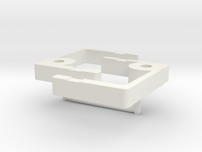TOMY/Trackmaster Chassis Custom Coupling Pair in White Natural Versatile Plastic