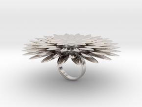 Dalilia - Bjou Designs in Rhodium Plated Brass