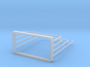 Chopping rack in Smoothest Fine Detail Plastic: Large