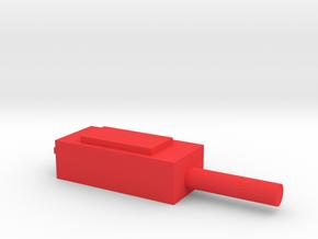 移調棒.stl in Red Processed Versatile Plastic: Small