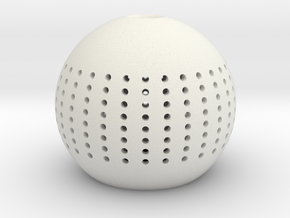 navell lamp in White Natural Versatile Plastic