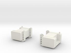 Fuel-tanks in White Natural Versatile Plastic