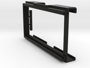 Aladdin 'A' Light; diffusion frame (Part ALADFB) in Black Natural Versatile Plastic