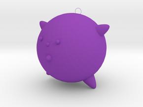 Hanging Accessories in Purple Processed Versatile Plastic
