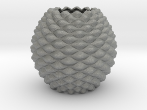 Pine Cone in Gray PA12