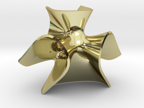 Clebsch in 18k Gold Plated Brass
