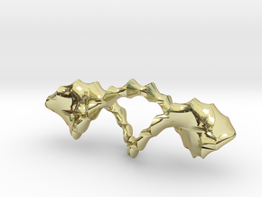Pseudo Torus  in 18k Gold Plated Brass