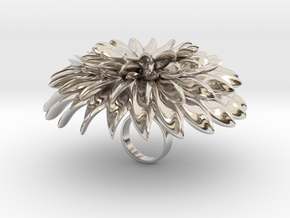 Thedala - Bjou Designs in Rhodium Plated Brass