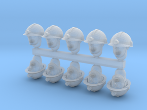 28mm miner heads x10 in Smoothest Fine Detail Plastic