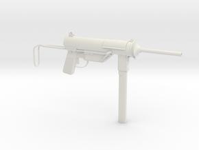 1/3rd Scale M3 Grease Gun  in White Natural Versatile Plastic