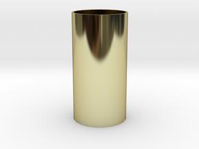 筆筒 in 18K Yellow Gold: Small