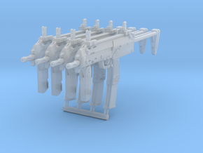 4x 1/24th MP7basic in Smoothest Fine Detail Plastic