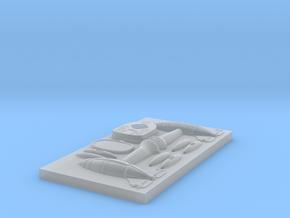 Rocketmen Rebel/Terran Fighter Mold Plate in Smoothest Fine Detail Plastic