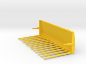 Mistgabel lang 2.5m Wiking in Yellow Processed Versatile Plastic