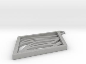 Aethra pendant in Aluminum: Small
