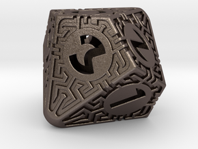 Daedalus D10 in Polished Bronzed-Silver Steel